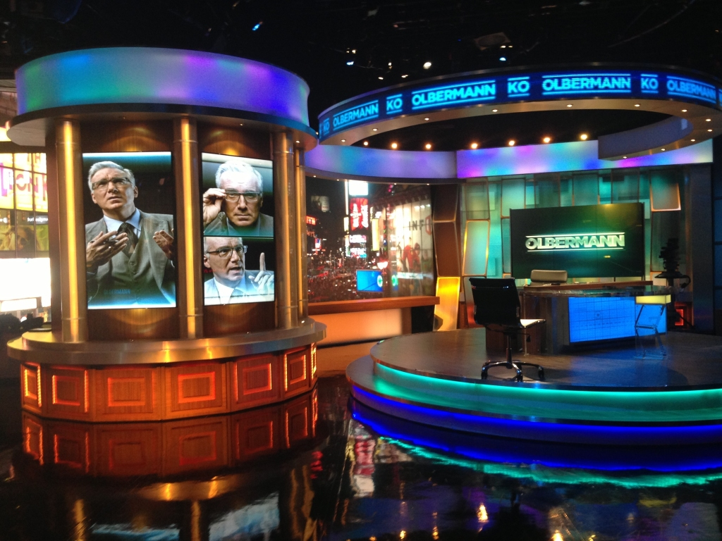 ESPN Keith Olbermann set graphics
