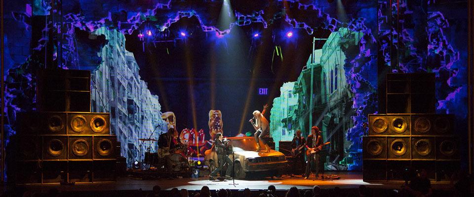 The Tony Awards : Virtual set design 2011-present