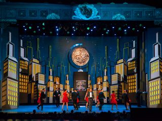 FROM THE ARCHIVE: Digital screen design for the big Show Open at the 67th Annual Tony Awards