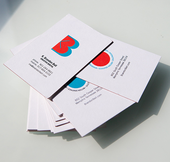 Self-promo business card designs