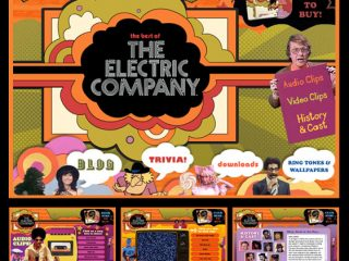 FROM THE ARCHIVE: Wacked-out Website for The Electric Company!