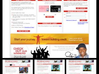 FROM THE ARCHIVE: Russell Simmons' Rushcard.com (third version)
