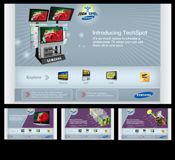 Samsung Techspot web design & build