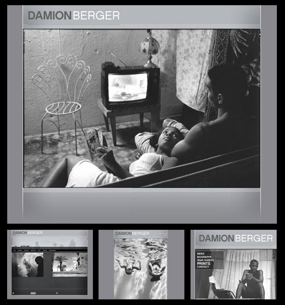 Damion Berger Flash website