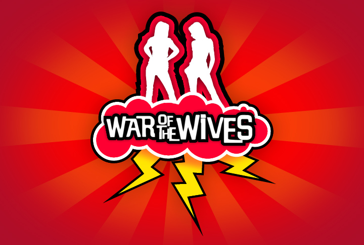 Bravo's War of the Wives branding and show open animation