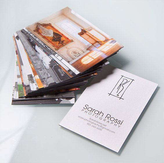 Business card designs for Sarah Rossi