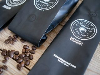 Relevant Roasters packaging shots