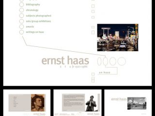 FROM THE ARCHIVE: Ernst Haas Studio website