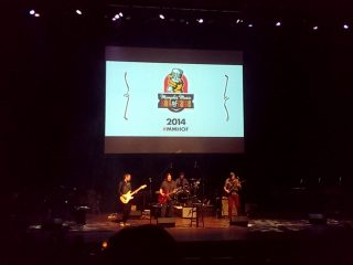 A few photos from the Rock & Soul Museums' 2014 ceremony