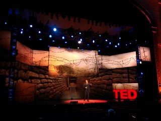 TED Talks Live Set Graphics