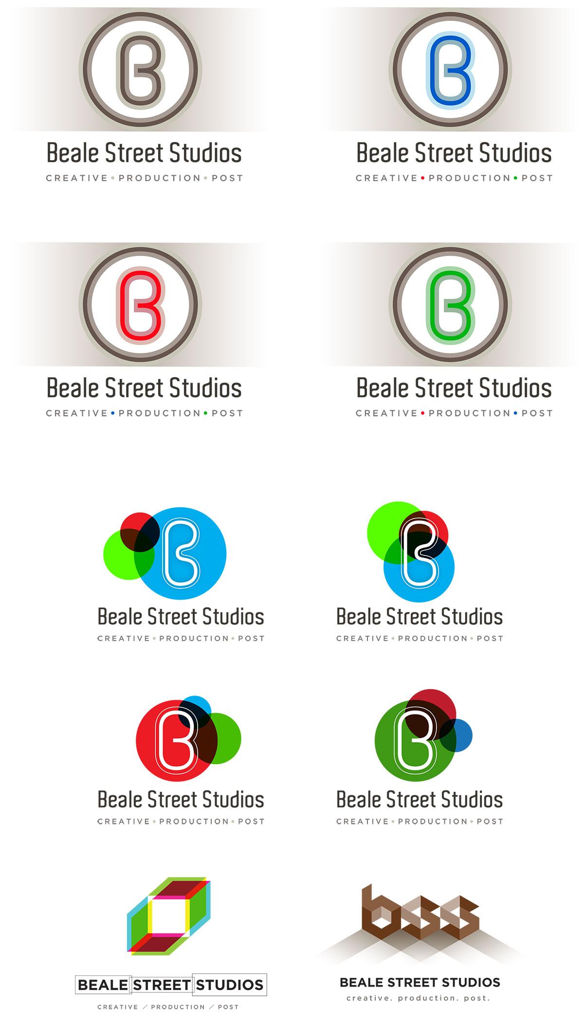 Beale Street Studios - logo design