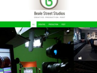 Logo & Website for Beale Street Studios