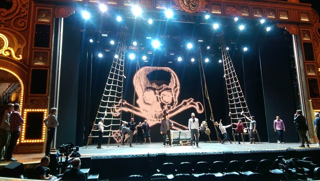 Tony Awards 2015: Rehearsals @ Radio City, Finding Neverland