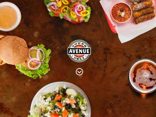 New responsive site launch : The Young Avenue Deli