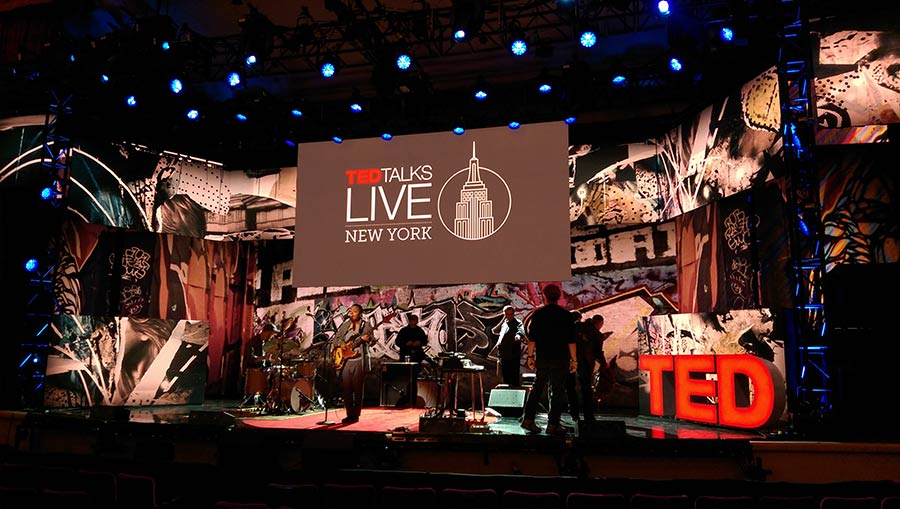 TED Talks Live on Broadway : rehearsals (Meshell Ndegeocello!)