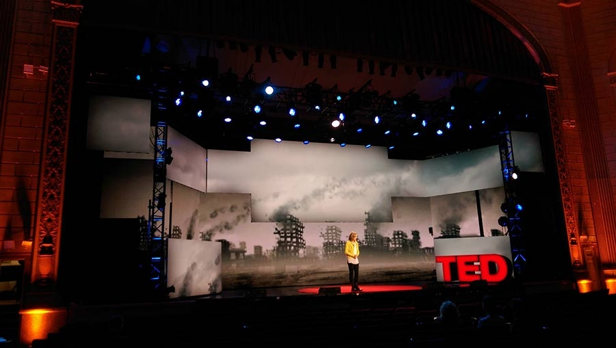 TED Talks Live on Broadway : rehearsals (War & Peace)