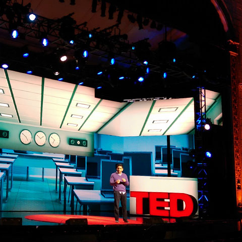TED Live : event graphics