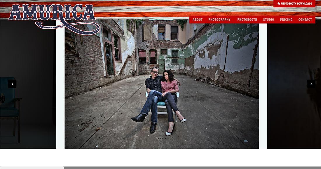 Amurica.com web design & development - Home Page