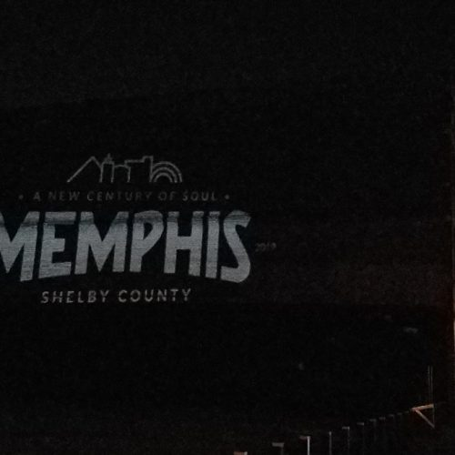 Memphis Brand Initiative : projection graphics by K Brandon Bell
