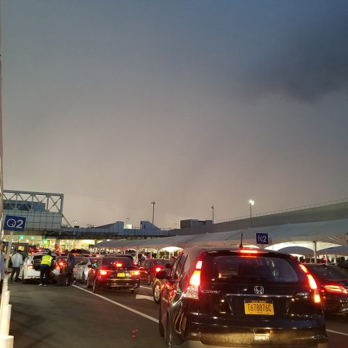 Crazy storms at LGA delayed flights for TWO DAYS