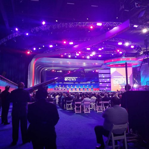 At the debate