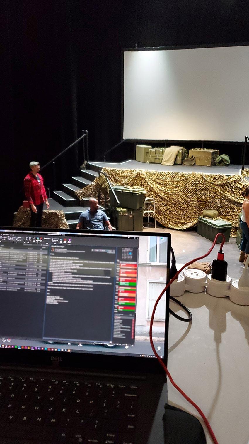 Seattle Opera : projection design by K Brandon Bell