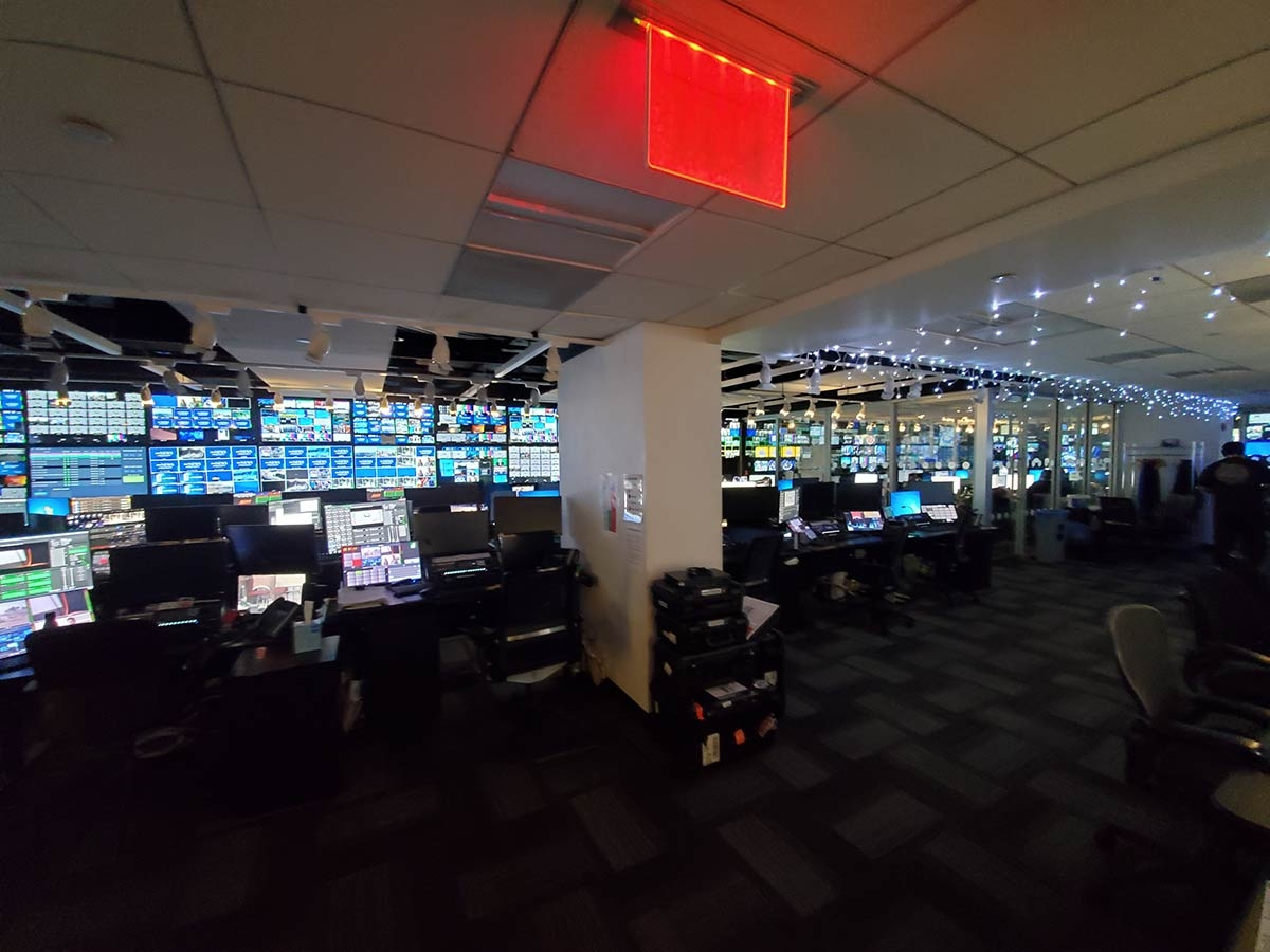 ABC News: control room