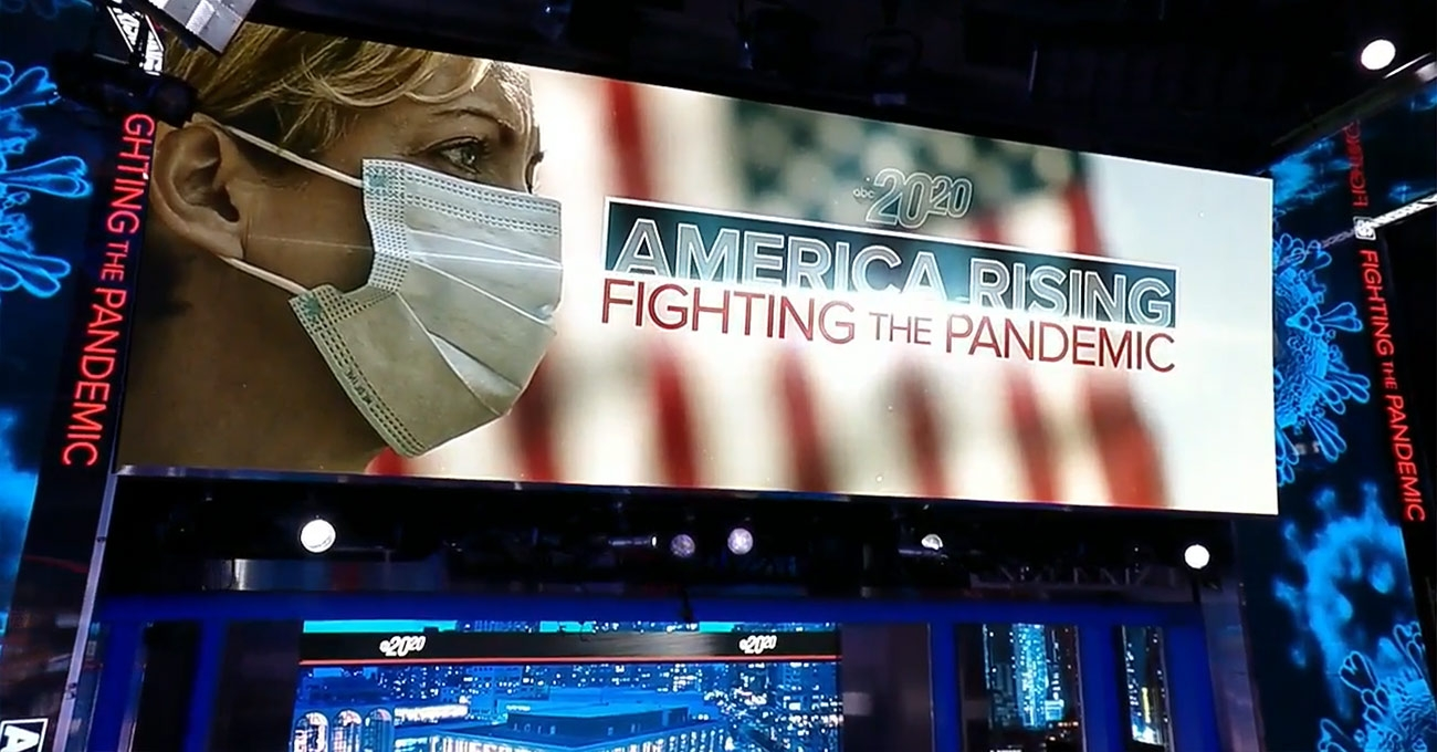 """20/20 - America Rising"" ABC News - screen design by K Brandon Bell"