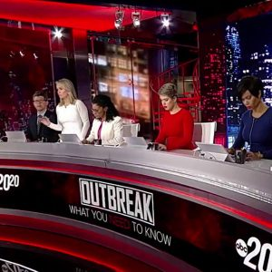 """""""20/20 - Outbreak: What You Need To Know"""" ABC News - screen design by K Brandon Bell"""