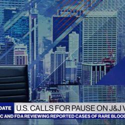 ABC News Live Update: set screen designs