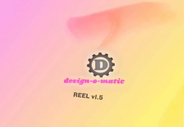 VERY OLD Design-O-Matic video/motion graphics reel by K Brandon Bell