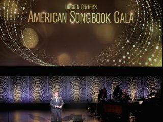 Projection graphics for Lincoln Center's American Songbook Gala opener