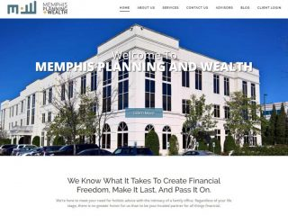 Branding & Website launched for Memphis Planning & Wealth