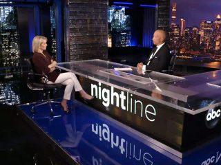 Nightline: set screen design