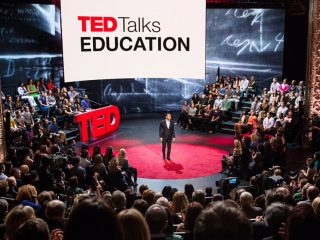 FROM THE ARCHIVE: Screen graphics for TED Talks Education on PBS