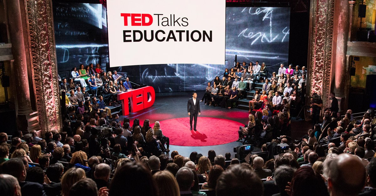TED-Talks-Education - screen graphics by K Brandon Bell