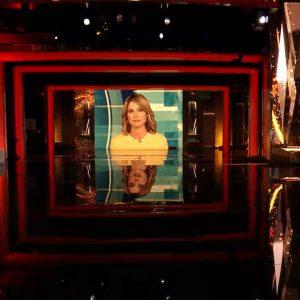 Thrivership Awards - Robin Roberts - ABC News - set screen design by K Brandon Bell