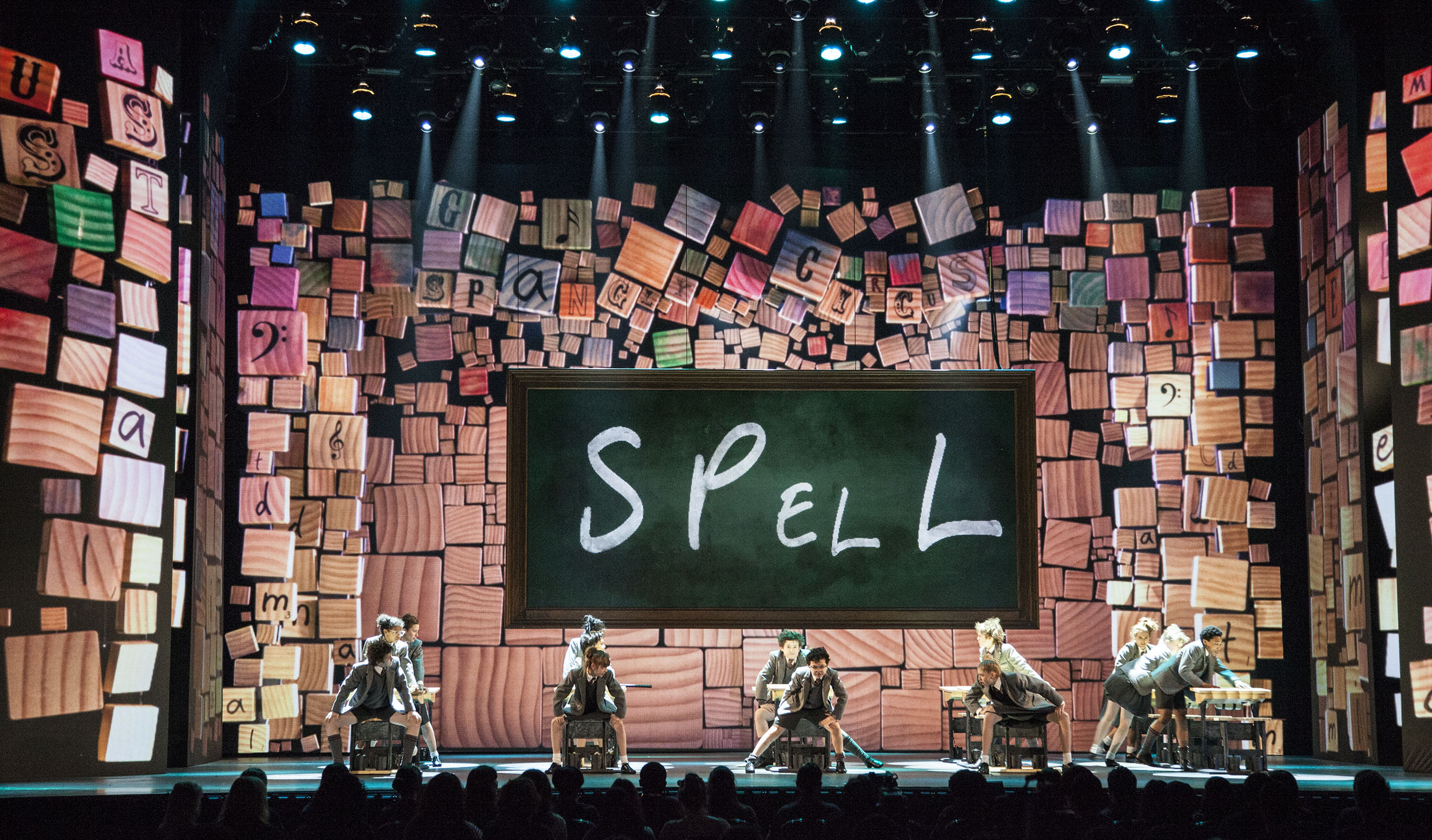 Highlights of screen design for the Tony Awards 2012-2013 : by K Brandon Bell