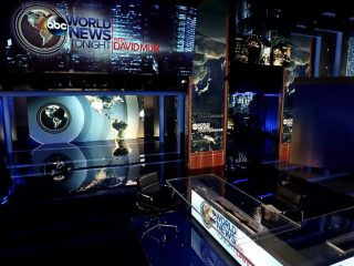 World News Tonight & Nightline - set screen design