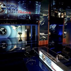 World News Tonight & Nightline – set screen design