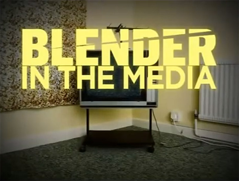 Blender Magazine promo animations by K Brandon Bell