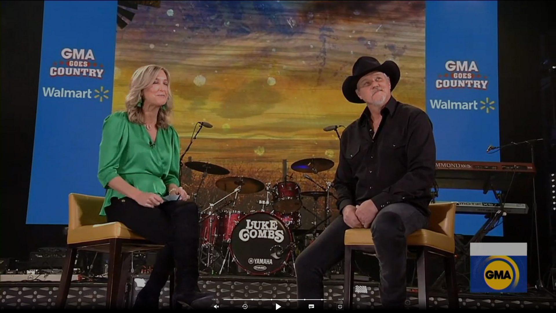 Good Morning America : LED set graphics for Nashville broadcast