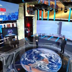 "More set screen designs for ABC News: ""Launch America"" & ""America In Pain"""