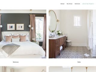 Website just launched for Lindsey Black Interiors