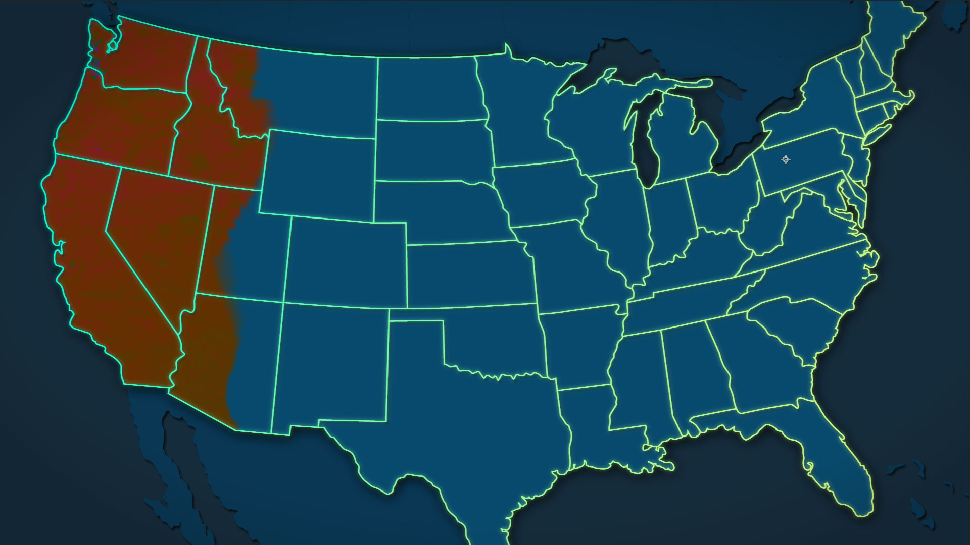 National Geographic TV - Meth Map