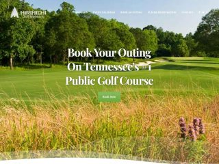 Website & Event System for Mirimichi Golf Course