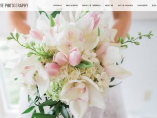 New Wordpress site for Sélavie Photography