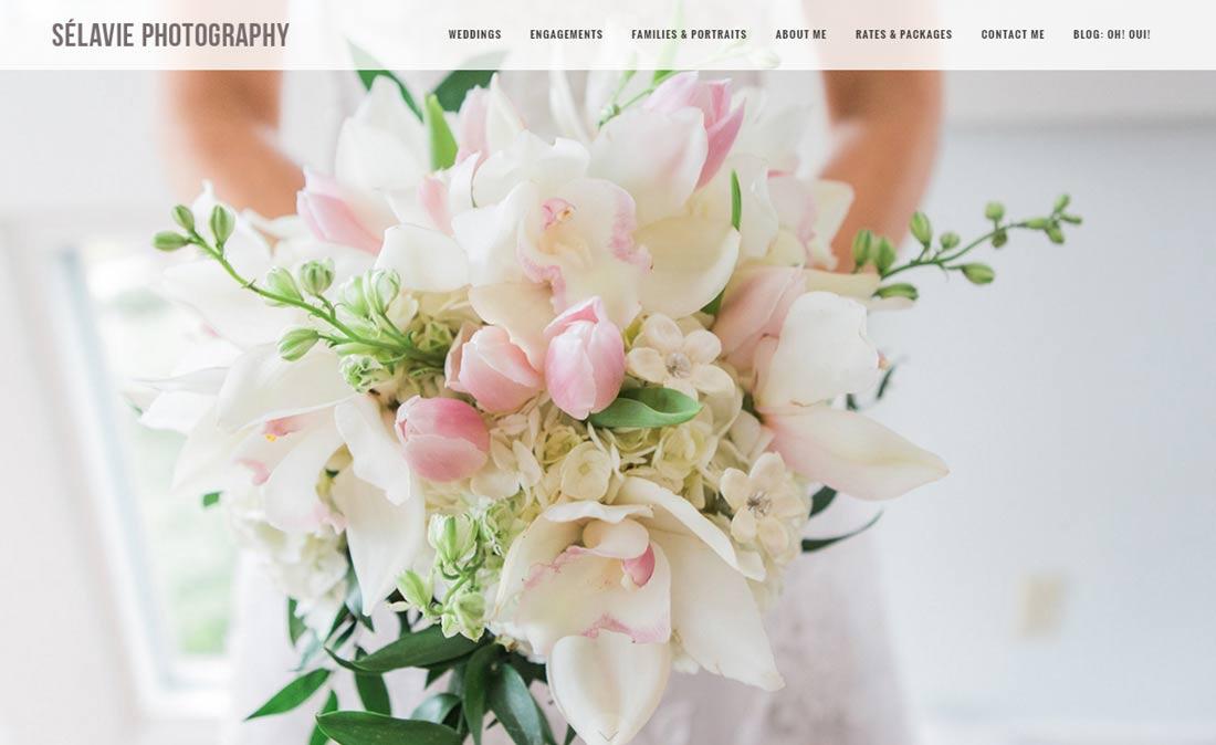 Selavie Photography website